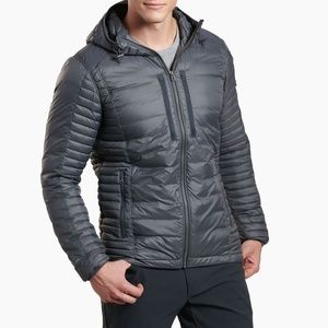 Kühl M's Spyfire Hoody Gray Jacket - Medium
